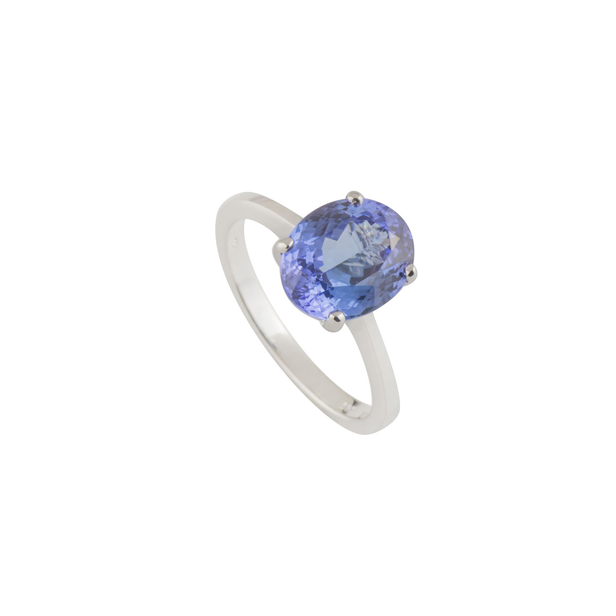 14k White Gold Tanzanite Ring 2.50ct